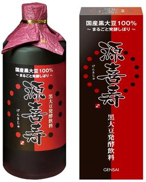 黒豆発酵飲料 源喜の商品画像